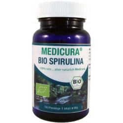 SPIRULINA (GLONY) BIO 150 PASTYLEK 60 g - MEDICURA