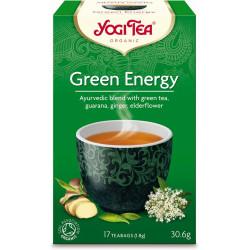 HERBATA ZIELONA ENERGIA (GREEN ENERGY) BIO (17 x 1,8 g) 30,6 g - YOGI TEA