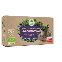 HERBATKA JAGODOWA BIO (25 x 3 g) 75 g - DARY NATURY