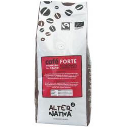 KAWA ZIARNISTA ARABICA/ROBUSTA FORTE FAIR TRADE BIO 500 g - ALTERNATIVA