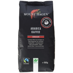 KAWA MIELONA ARABICA 100 % FAIR TRADE BIO 500 g - MOUNT HAGEN