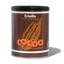 KAKAO CRIOLLO W PROSZKU FAIR TRADE BEZGLUTENOWE BIO 250 g - BECKS COCOA