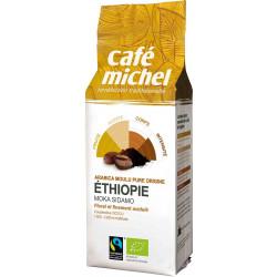 KAWA MIELONA ARABICA 100 % MOKA SIDAMO ETIOPIA FAIR TRADE BIO 250 g - CAFE MICHEL