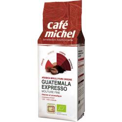 KAWA MIELONA ARABICA 100 % ESPRESSO GWATEMALA FAIR TRADE BIO 250 g - CAFE MICHEL
