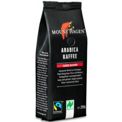 KAWA ZIARNISTA ARABICA 100 % FAIR TRADE BIO 250 g - MOUNT HAGEN