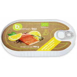 ŁOSOŚ FILET W OLIWIE Z OLIWEK Z CYTRYNĄ (PUSZKA) BIO 150 g -BETTER FISH (B SALMON)