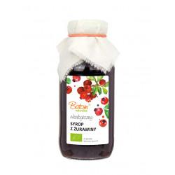 SYROP ŻURAWINOWY BIO 330 ml - BATOM