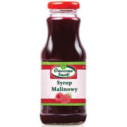 SYROP MALINOWY BIO 250 ml - OWOCOWE SMAKI