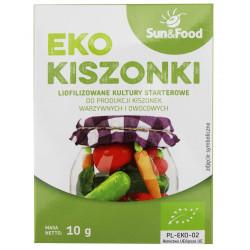LIOFILIZOWANE KULTURY STARTEROWE DO KISZONEK BIO 10 g - SUN&FOOD