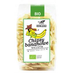 CHIPSY BANANOWE SOLONE BIO 150 g - BIO PLANET