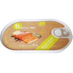 ŁOSOŚ FILET W OLIWIE Z OLIWEK (PUSZKA) BIO 150 g - BETTER FISH (B SALMON)