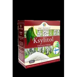 KSYLITOL (PUDEŁKO PAPIEROWE) 500 g - PIĘĆ PRZEMIAN