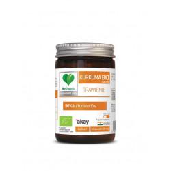 KURKUMA EKSTRAKT BIO 50 KAPSUŁEK (500 mg) - BE ORGANIC