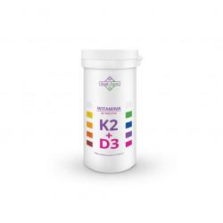 WITAMINA K2 MK7 + D3 60 TABLETEK - SOUL FARM