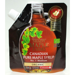 SYROP KLONOWY A BIO 166 g (125 ml) - SHADY MAPLE FARMS