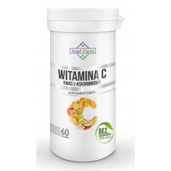 WITAMINA C (KWAS L - ASKORBINOWY) 60 KAPSUŁEK (800 mg) - SOUL FARM