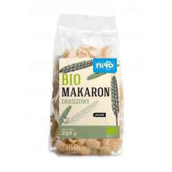 MAKARON (ORKISZOWY) JEŻYKI BIO 250 g - NIRO
