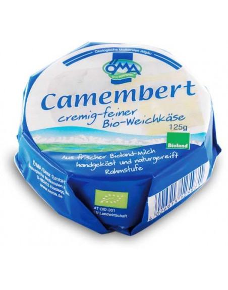 SER CAMEMBERT BIO (50 % TŁUSZCZU W SUCHEJ MASIE) 125 g - OMA