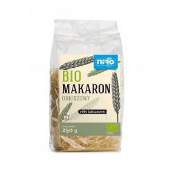 MAKARON (ORKISZOWY) NITKI LUKSUSOWE BIO 250 g - NIRO