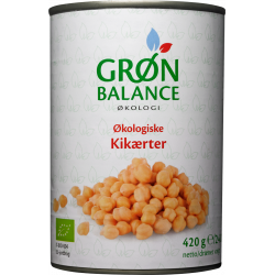 CIECIERZYCA W ZALEWIE (PUSZKA) BIO 420 g (240 g) - GRON BALANCE