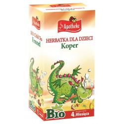 HERBATKA DLA DZIECI - KOPER BIO (20 x 1,5 g) 30 g - APOTHEKE