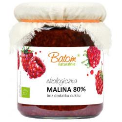 MALINA 80 % B/C BIO 260 g - BATOM