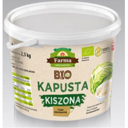 KAPUSTA KISZONA BEZGLUTENOWA BIO 3 kg (2,5 kg) (WIADERKO) - FARMA ŚWIĘTOKRZYSKA