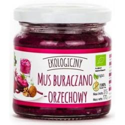 MUS BURACZANO - ORZECHOWY BEZGLUTENOWY BIO 170 g - FARMA ŚWIĘTOKRZYSKA