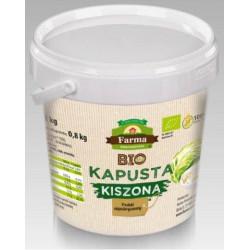 KAPUSTA KISZONA BEZGLUTENOWA BIO 1 kg (0,8 kg) (WIADERKO) - FARMA ŚWIĘTOKRZYSKA