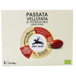 SOS POMIDOROWY PASSATA BIO (3 x 200 g) 600 g - ALCE NERO