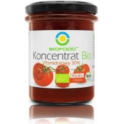 KONCENTRAT POMIDOROWY 30 % BIO 200 g - BIO FOOD