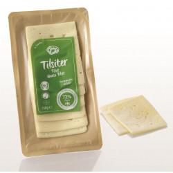 SER TILSITER (TYLŻYCKI) PLASTRY BIO (45 % TŁUSZCZU W SUCHEJ MASIE) 150 g - OMA