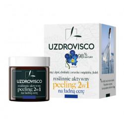PEELING DO TWARZY 2w1 FIOŁEK 50 ml - UZDROVISCO