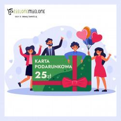 Zielona Karta Podarunkowa 25