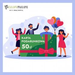 Zielona Karta Podarunkowa 50