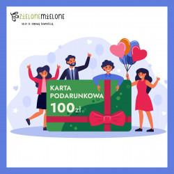 Zielona Karta Podarunkowa 100