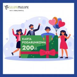 Zielona Karta Podarunkowa 200