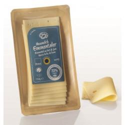 SER EMENTALER PLASTRY BIO (45 % TŁUSZCZU W SUCHEJ MASIE) 150 g - OMA