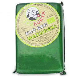 SER ŻÓŁTY PODPUSZCZKOWY MAZURSKI BLOK BIO (około 1,25 kg) - EKO ŁUKTA
