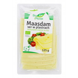 SER MAASDAM PLASTRY 125 g - BIO PLANET