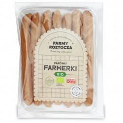 PARÓWKI FARMERKI BIO 250 g - FARMY ROZTOCZA