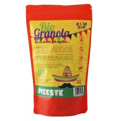 GRANOLA POMIDOR - CHILI - LIMONKA (MEKSYK) BEZGLUTENOWA BIO 150 g - GOOD STUFF