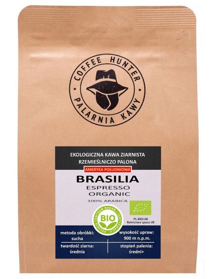 KAWA ZIARNISTA ARABICA 100 % BRAZYLIA FAIR TRADE BIO 250 g - COFFEE HUNTER