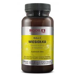 OLEJ Z WIESIOŁKA TŁOCZONY NA ZIMNO 120 KAPSUŁEK (670 mg) - BIOOIL