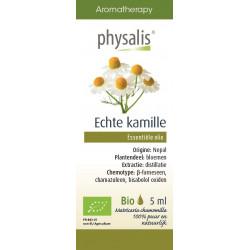 OLEJEK ETERYCZNY RUMIANEK POSPOLITY (ECHTE KAMILLE) BIO 5 ml - PHYSALIS