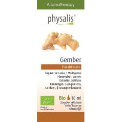 OLEJEK ETERYCZNY IMBIR (GEMBER) BIO 10 ml - PHYSALIS