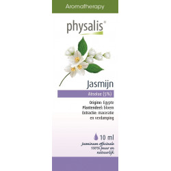 OLEJEK JAŚMIN WIELKOKWIATOWY ABSOLUT (JASMIJN) 10 ml - PHYSALIS