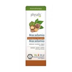 OLEJEK DO TWARZY I CIAŁA MAKADAMIA (MACADAMIA) ECO 100 ml - PHYSALIS
