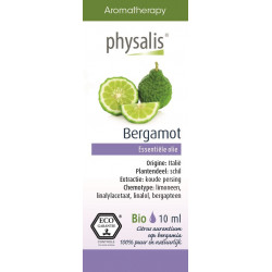OLEJEK ETERYCZNY BERGAMOTKA (BERGAMOTE) ECO 10 ml - PHYSALIS