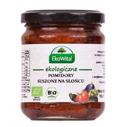 Pomidory suszone na słońcu w oleju BIO 180 g